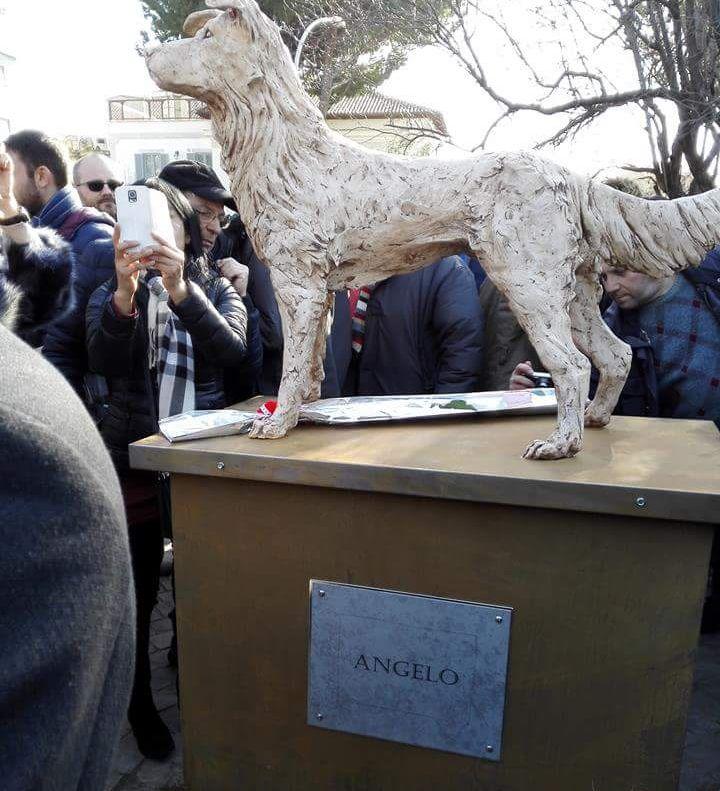 Cane Angelo: una statua in suo onore, per non dimenticare…