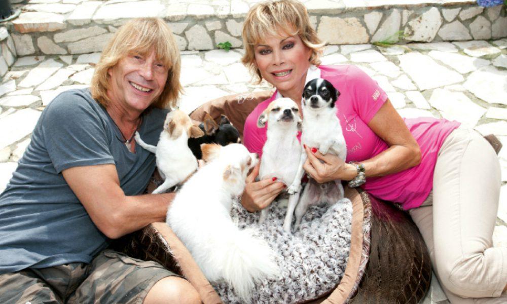 """Carmen Russo ed Enzo Paolo Turchi: la loro vita con una """"tribù pelosa"""" di 22 cani"""