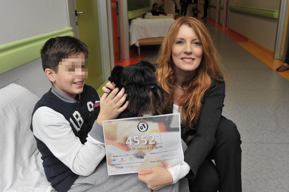 """Pet Therapy: """"Con Fido Passa Il Dolore"""", lo conferma il monitoraggio del Fatebenefratelli"""