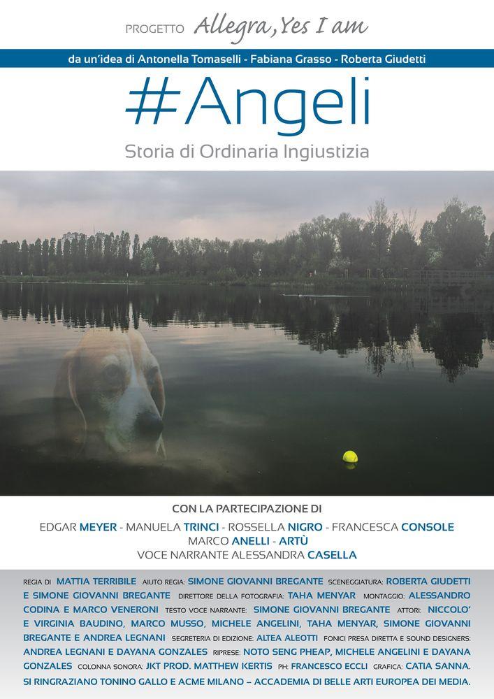 """""""#Angeli – Storia di ordinaria ingiustizia"""": la docu-fiction ispirata alla storia del cane Angelo"""