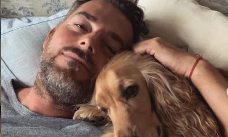 Daniele Bossari cane